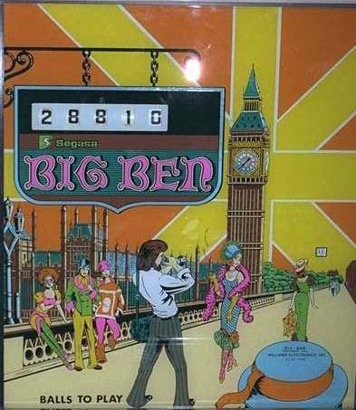 Big Ben Pinball Mods