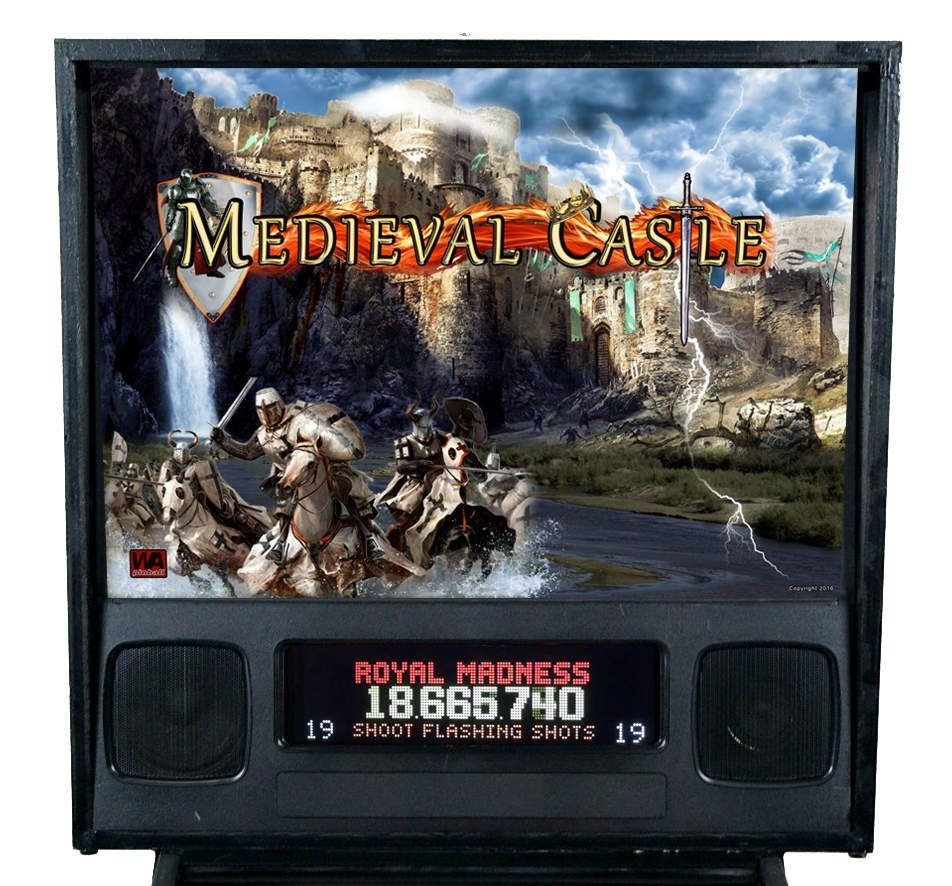 Medieval Castle Pinball Mods