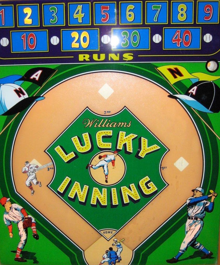 Lucky Inning Pinball Mods