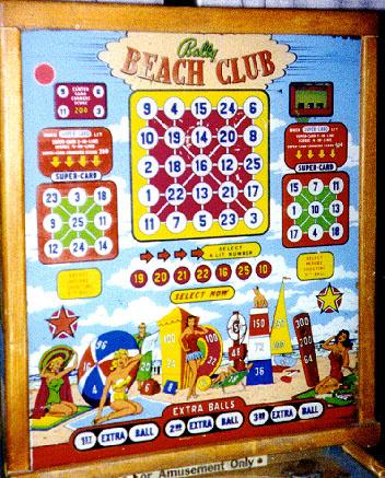 Beach Club Pinball Mods