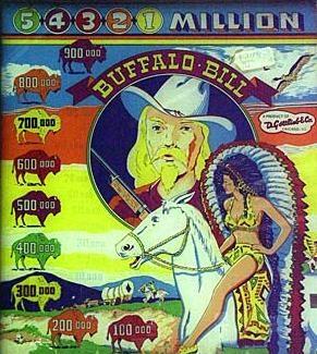 Buffalo Bill Pinball Mods