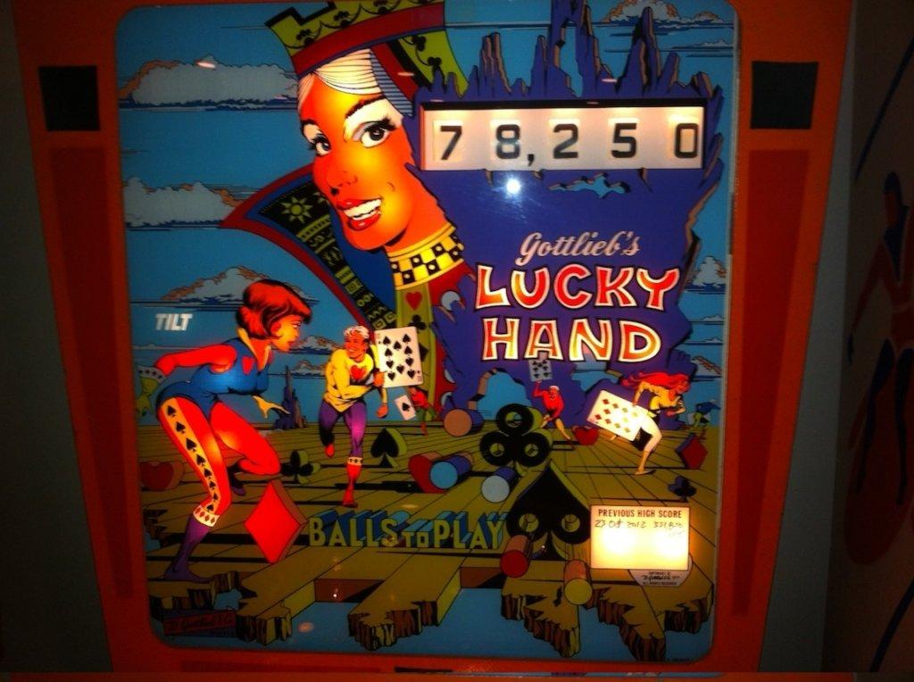 Lucky Hand Pinball Mods
