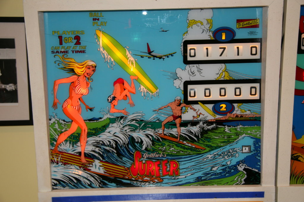 Surfer Pinball Mods