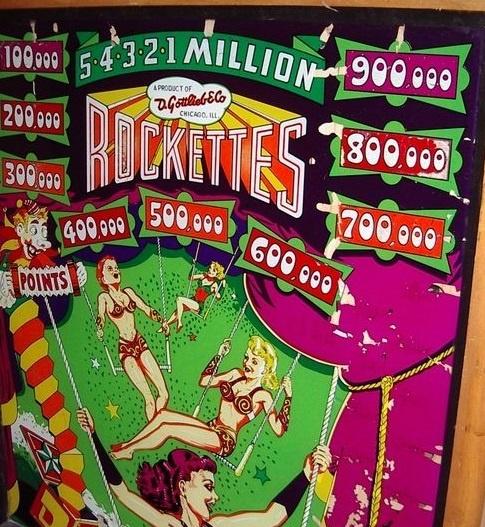 Rockettes Pinball Mods