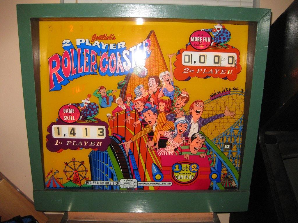 Roller Coaster Pinball Mods