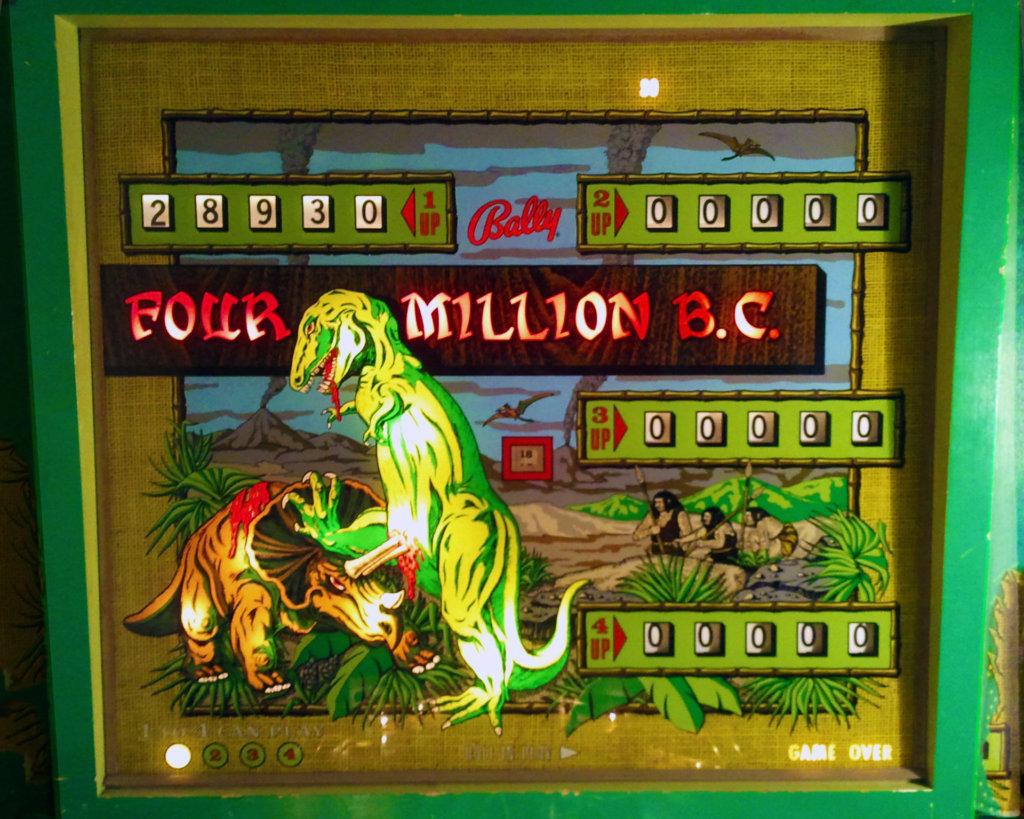 Four Million B.C. Pinball Mods