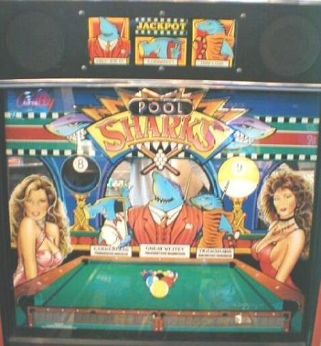 Pool Sharks Pinball Mods