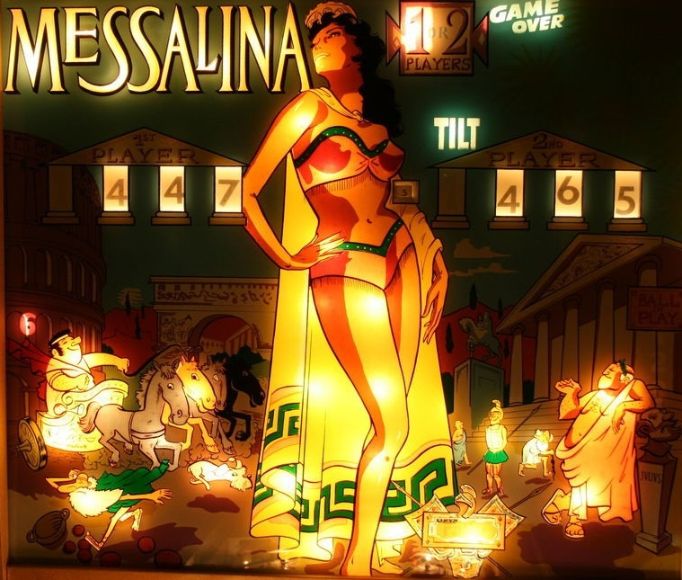 Messalina Pinball Mods