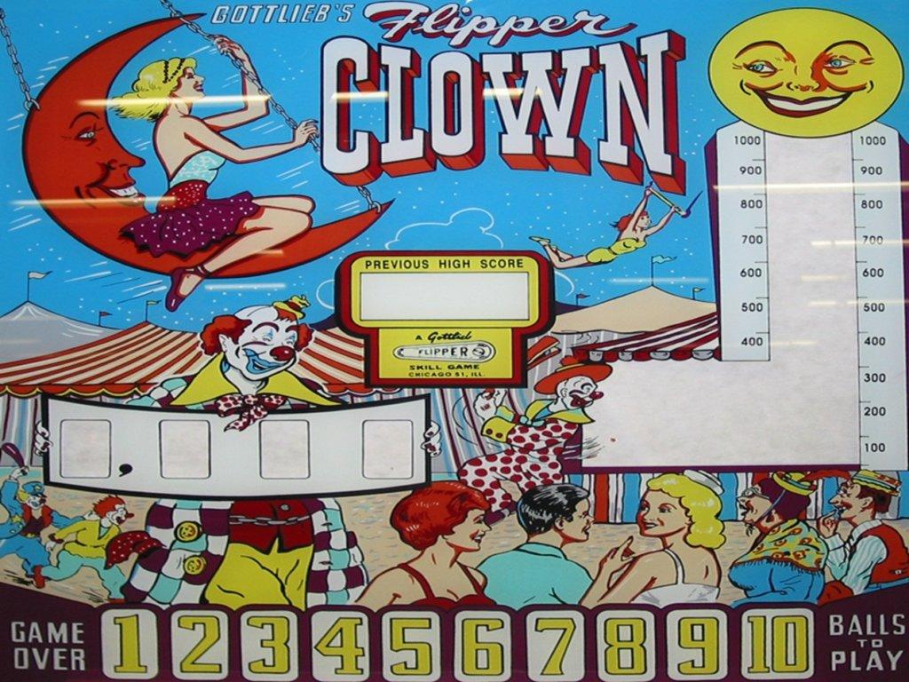 Flipper Clown Pinball Mods