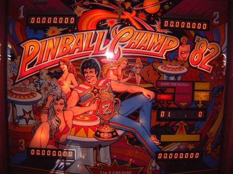 Pinball Champ '82 Pinball Mods