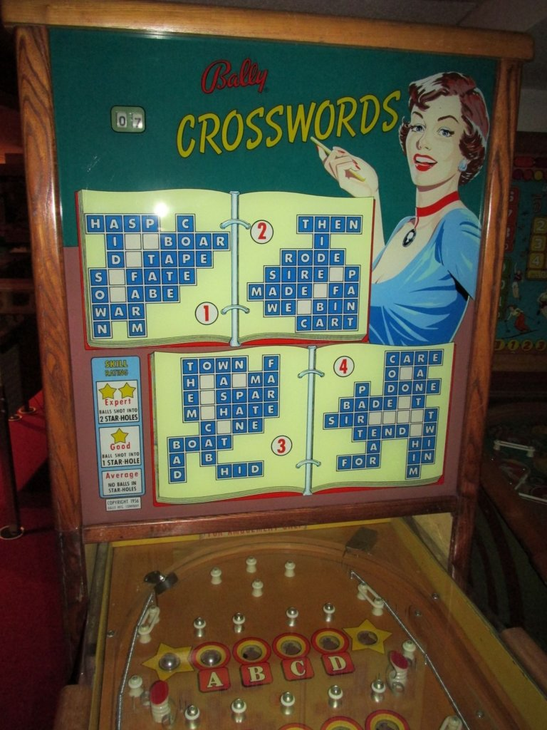 Crosswords Pinball Mods