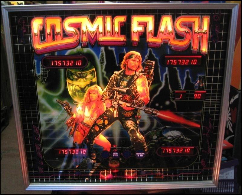 Cosmic Flash Pinball Mods