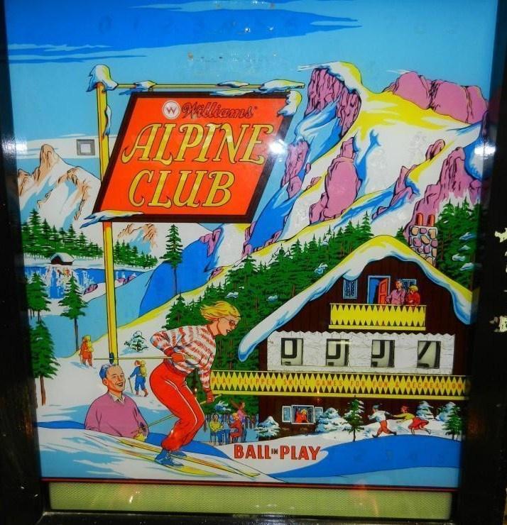 Alpine Club Pinball Mods