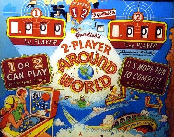 Around the World Pinball Mods