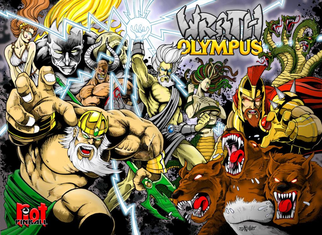 Wrath of Olympus Pinball Mods