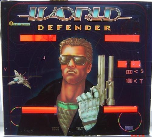 World Defender Pinball Mods
