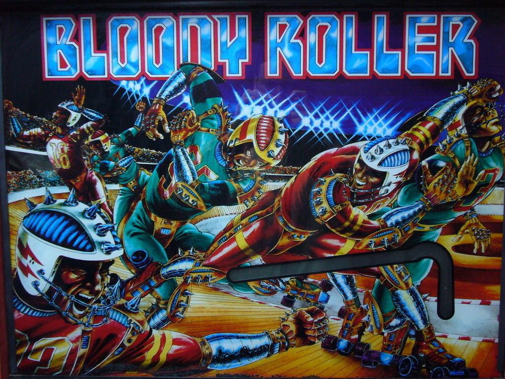 Bloody Roller Pinball Mods