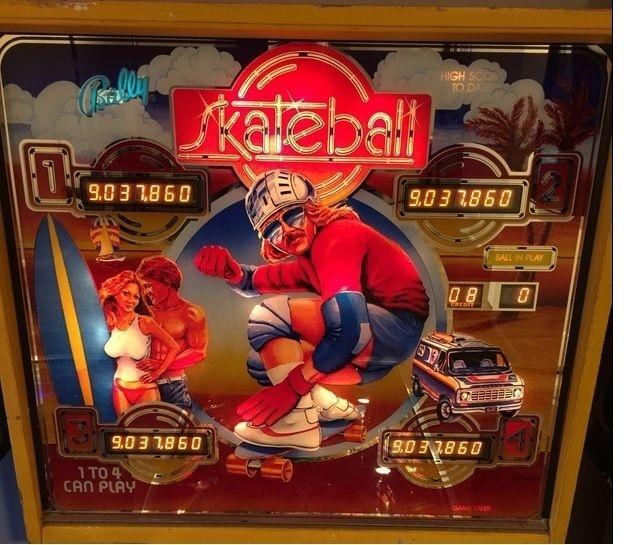 Skateball Pinball Mods
