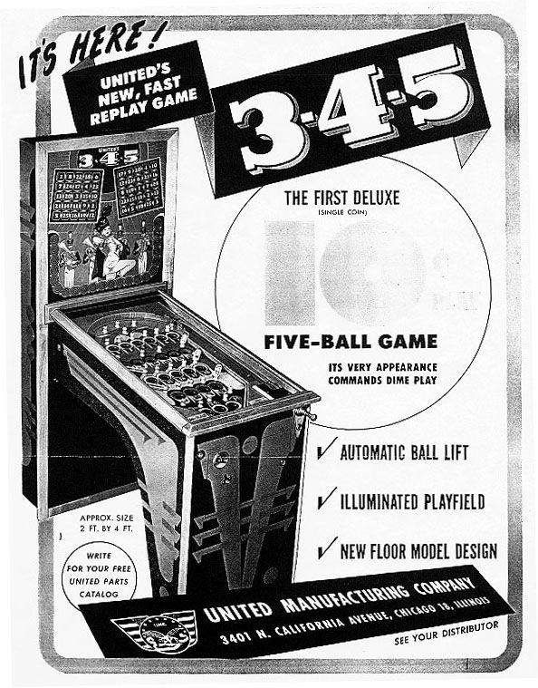 3-4-5 Pinball Mods