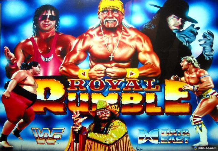 Royal Rumble (WWF) Pinball Mods
