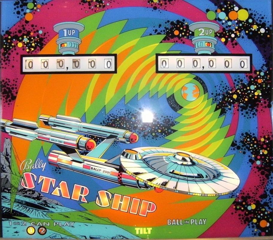 Star Ship Pinball Mods