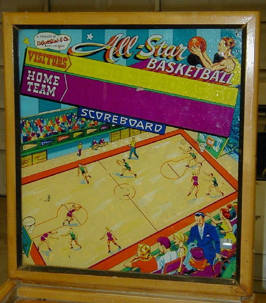All-Star Basketball Pinball Mods