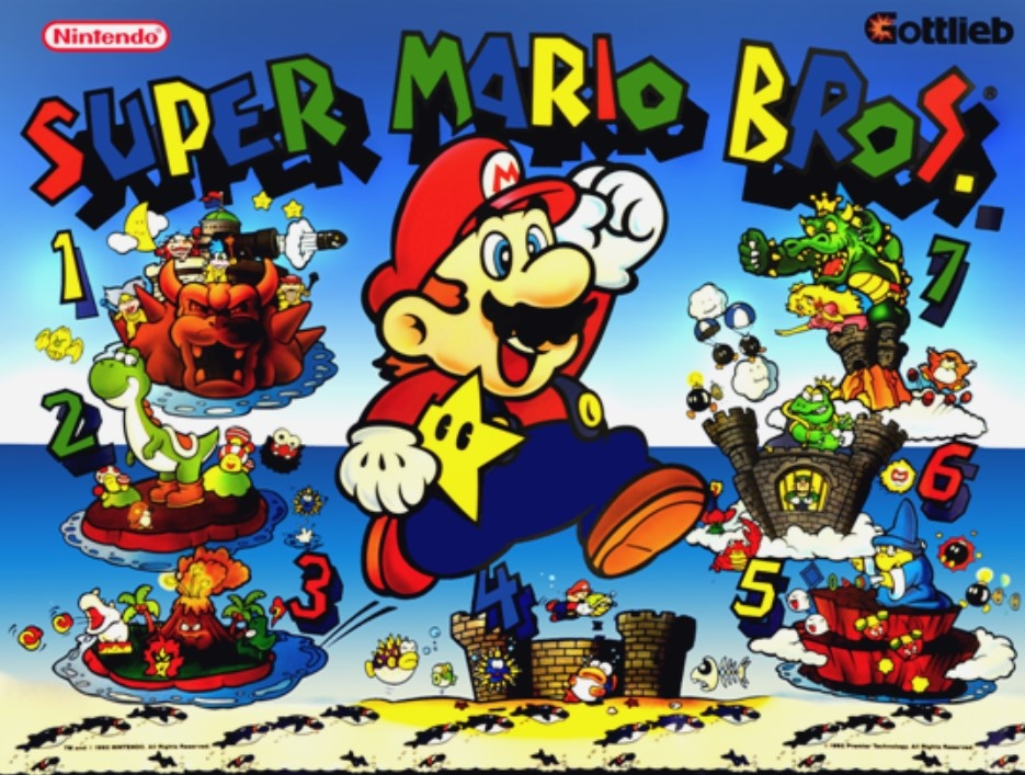 Super Mario Bros. Pinball Mods