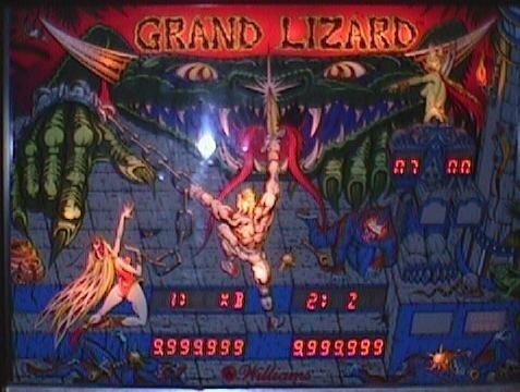 Grand Lizard Pinball Mods