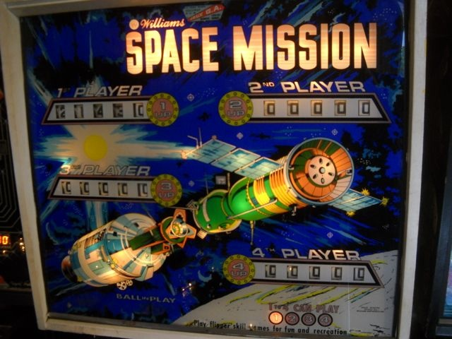 Space Mission Pinball Mods