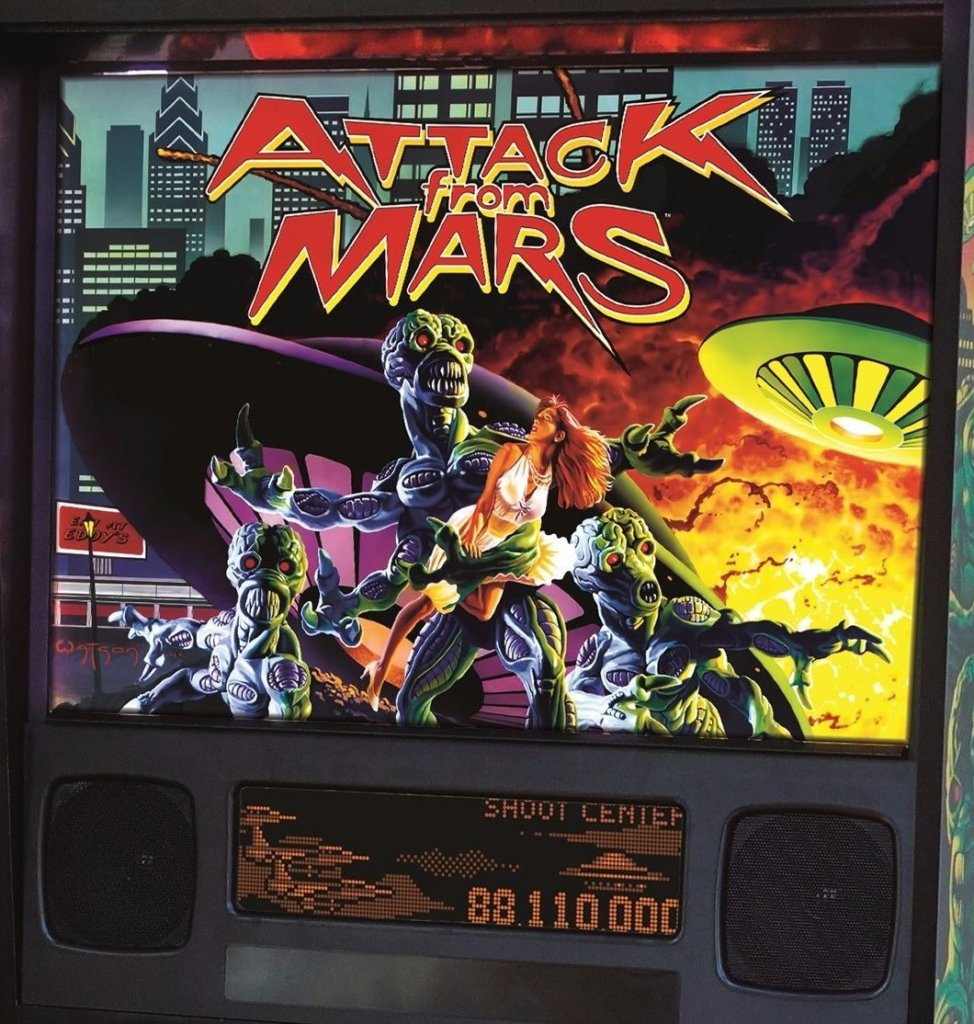 Attack From Mars (Remake - Classic) Pinball Mods