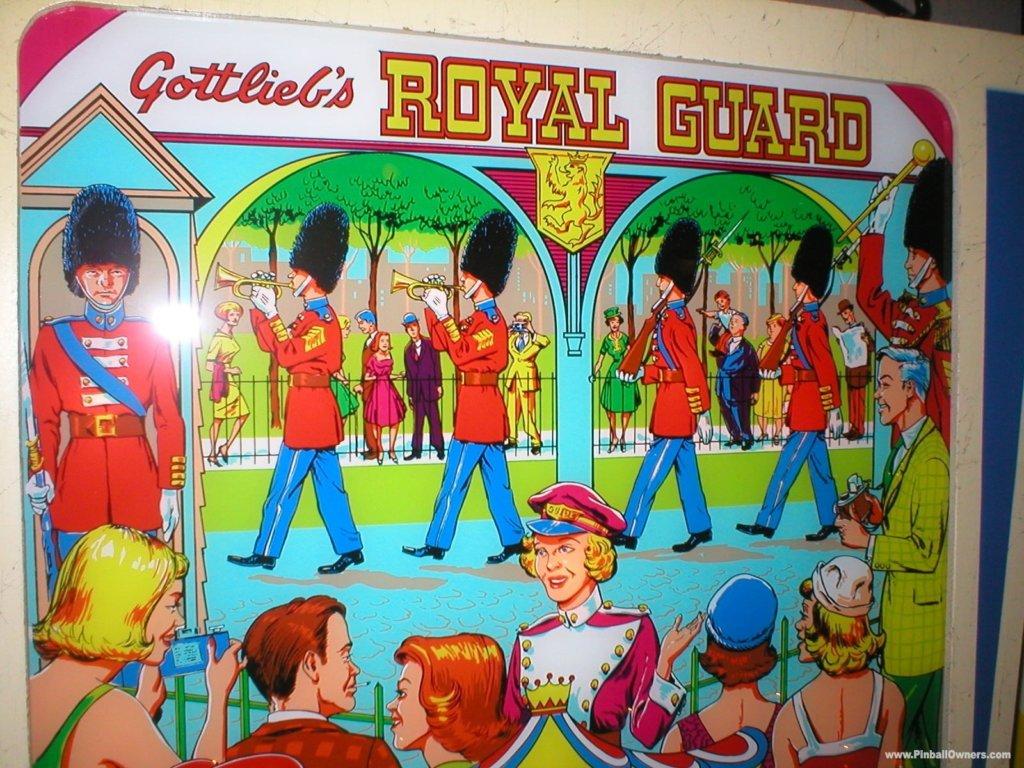 Royal Guard Pinball Mods