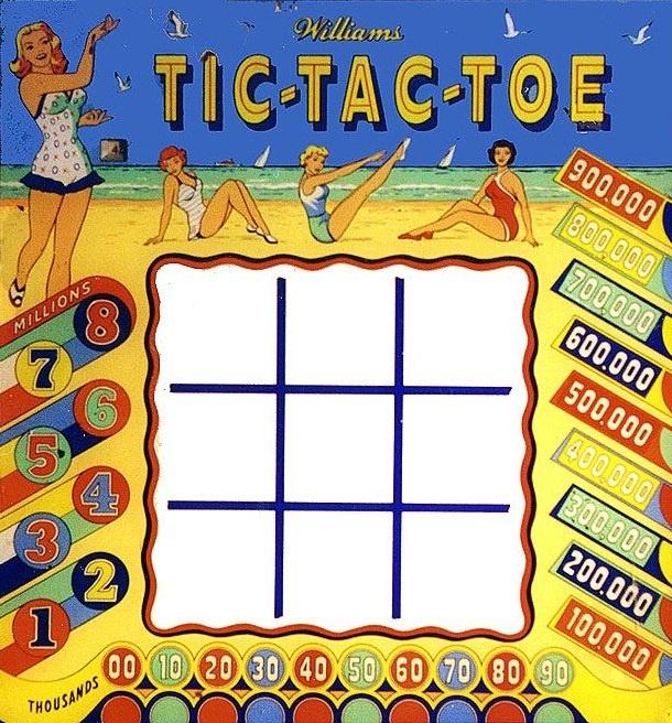 Tic-Tac-Toe Pinball Mods