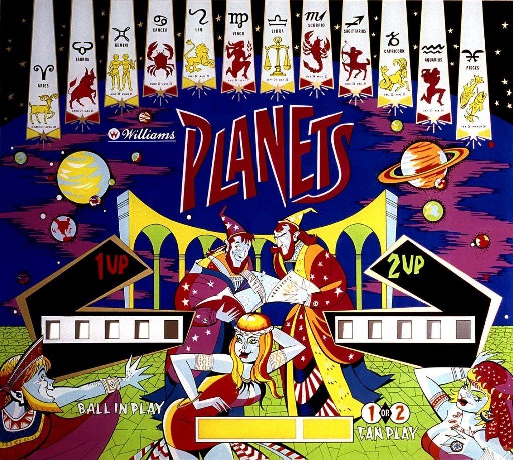 Planets Pinball Mods