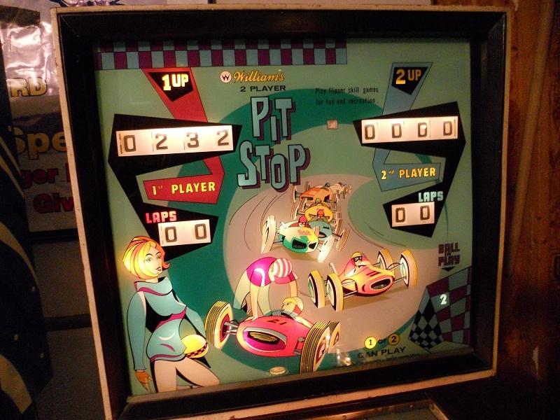 Pit Stop Pinball Mods