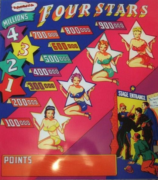 Four Stars Pinball Mods