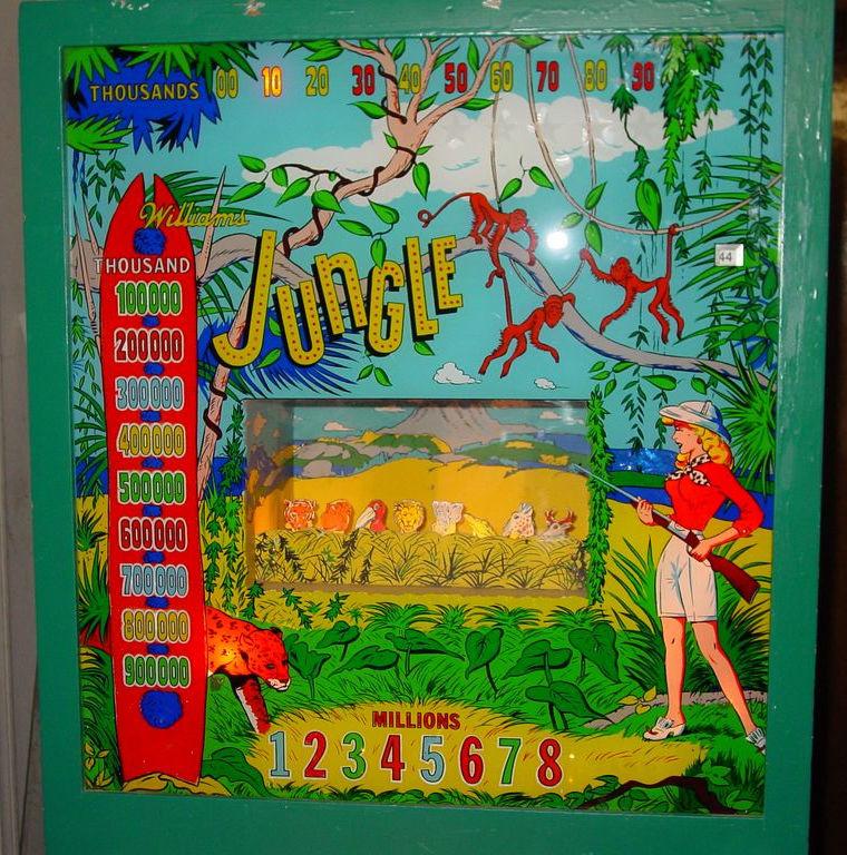 Jungle Pinball Mods