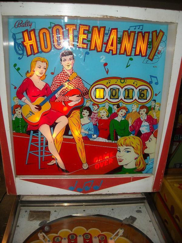 Hootenanny Pinball Mods