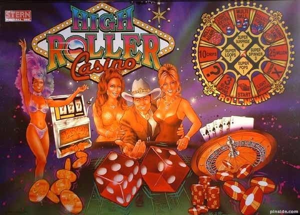 High Roller Casino Pinball Mods