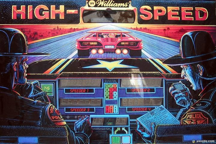 High Speed Pinball Mods