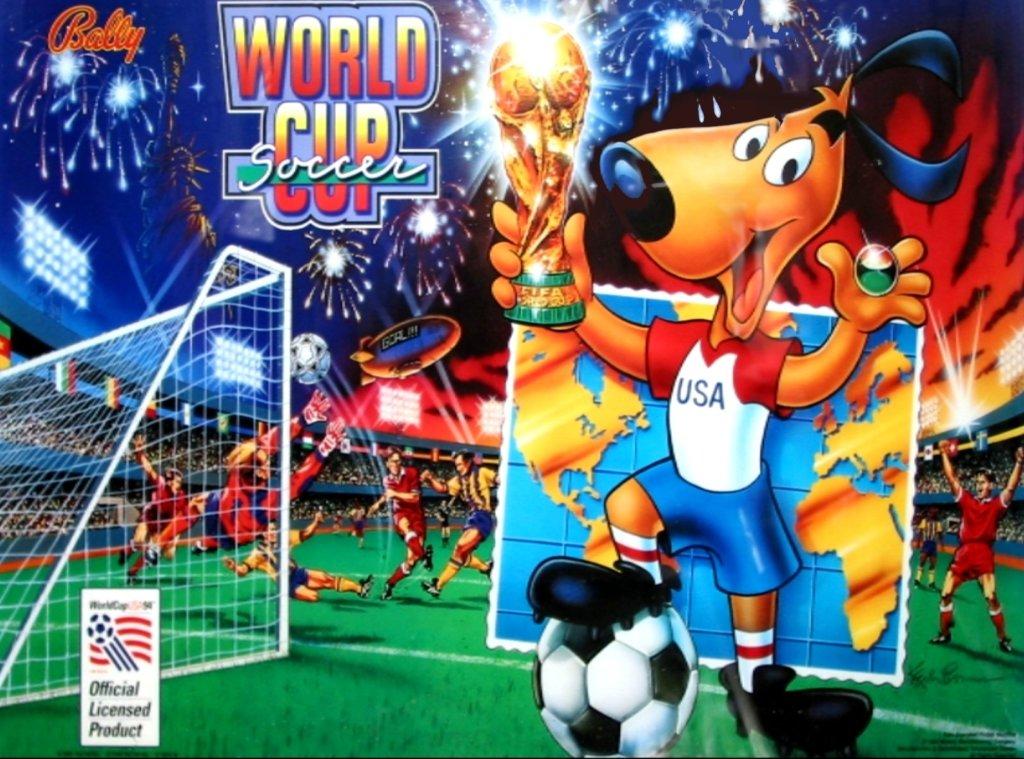 World Cup Soccer Pinball Mods