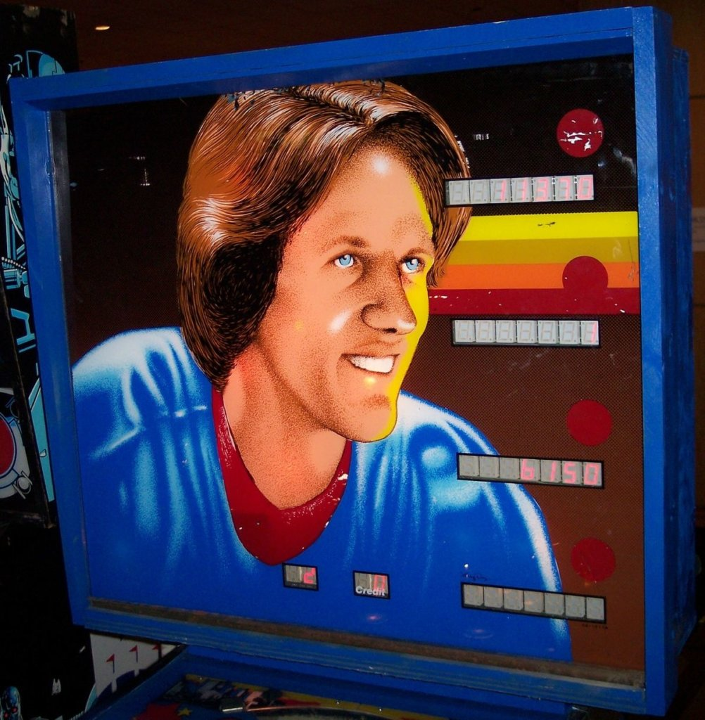 Mike Bossy (The scoring machine) Pinball Mods