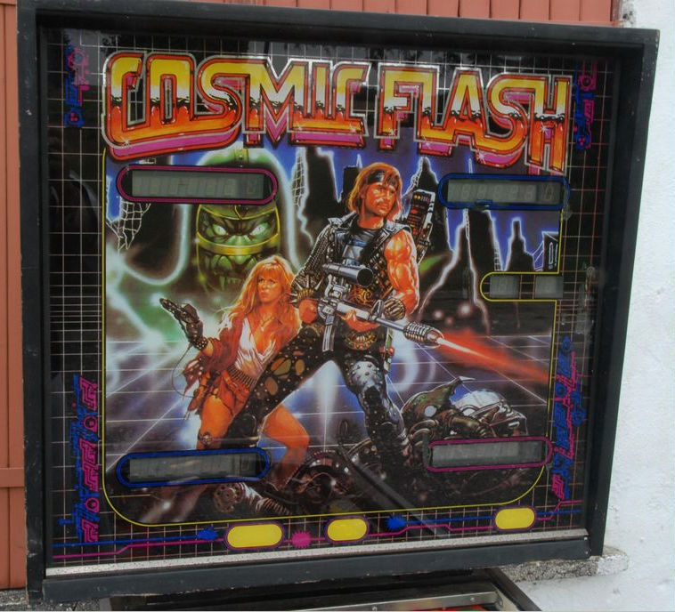 Cosmic Flash Pinball Mods