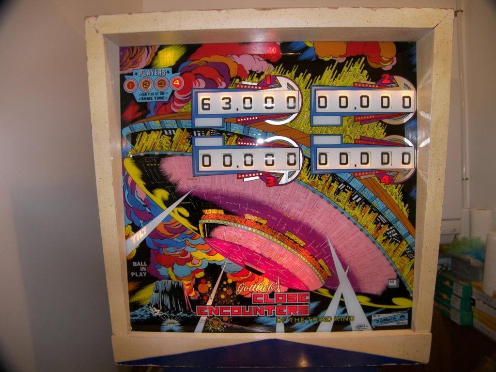 Close Encounters of the Third Kind EM Pinball Mods
