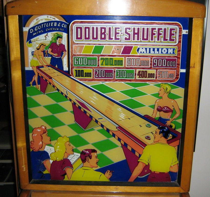 Double-Shuffle Pinball Mods