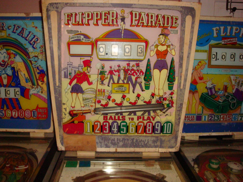 Flipper Parade Pinball Mods