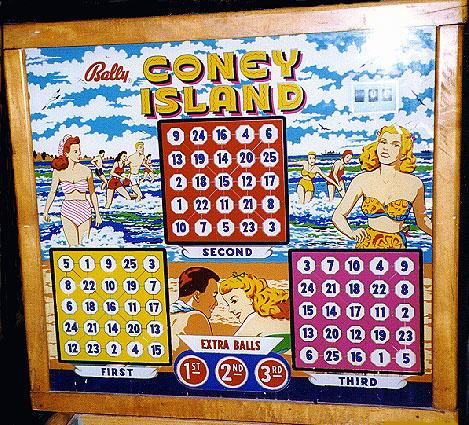 Coney Island Pinball Mods