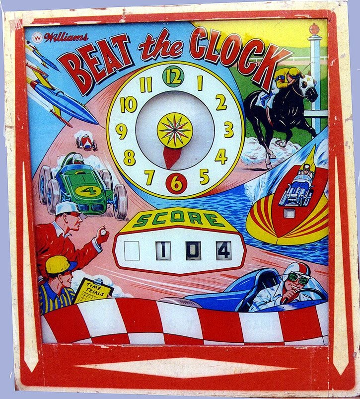 Beat the Clock Pinball Mods