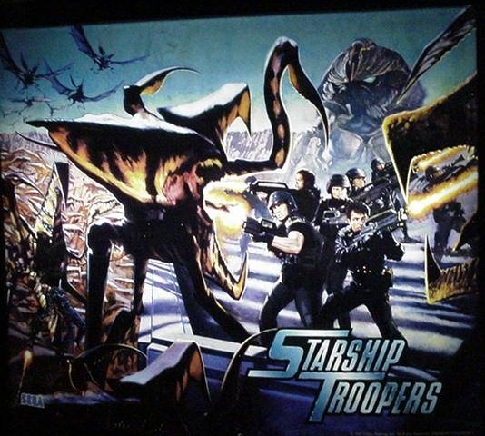 Starship Troopers Pinball Mods