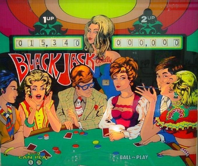 Black Jack EM Pinball Mods
