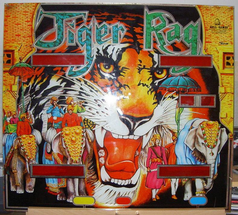 Tiger Rag Pinball Mods
